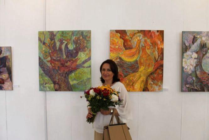 Марія Ворончак зафіксувала на полотні «Голос землі»