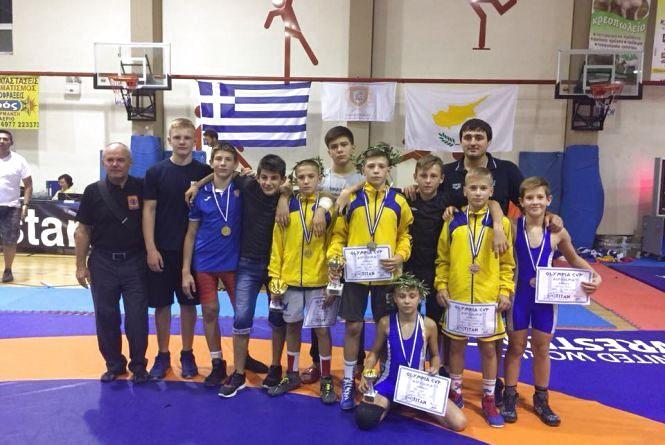 Тернопільські борці здобули п'ять нагород у Греції