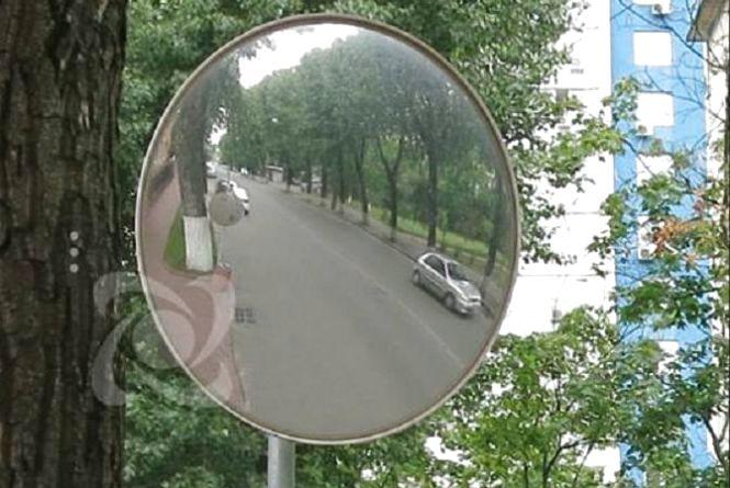 У Тернополі встановлять дзеркала огляду