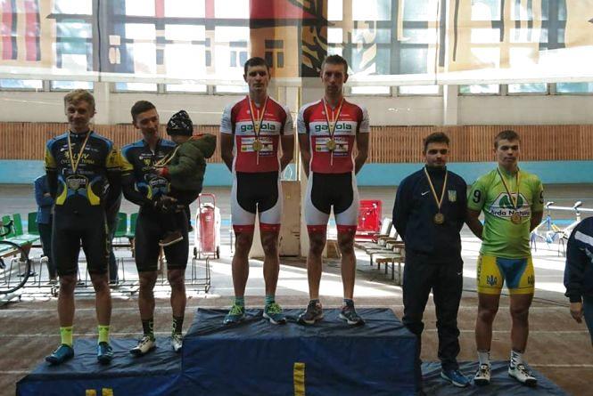Тернополяни стали чемпіонами України з велоспорту на треку