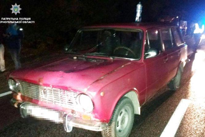 У Тернополі під час перекриття дороги через протест водій збив поліцейську