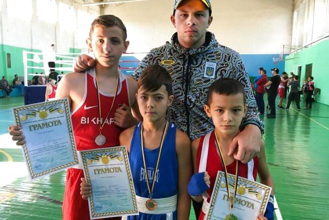 Тернополяни здобули три медалі на Всеукраїнському турнірі з боксу