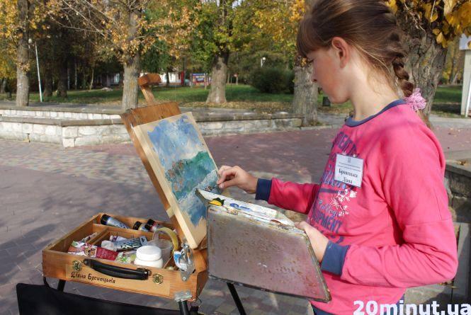 Фото дня: Тернопіль осінній малює понад 80 художників