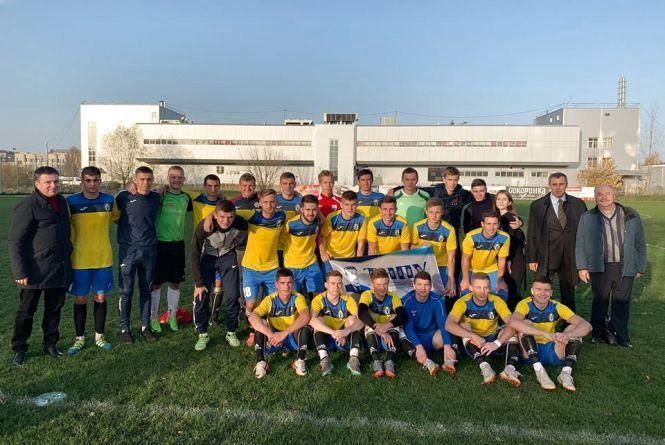 У футбольному дербі перемогу святкували студенти педуніверситету