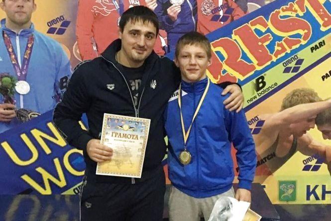Тернополянин став чемпіоном України з греко-римської боротьби