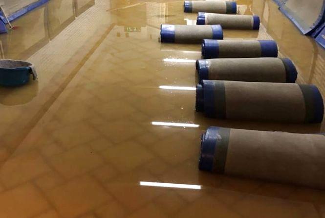 На Танцорова затопило зал, де займаються айкідо. Тренер просить допомоги у відновленні