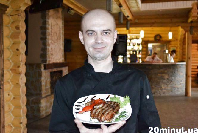 Готуємо стейк з овочами-гриль
