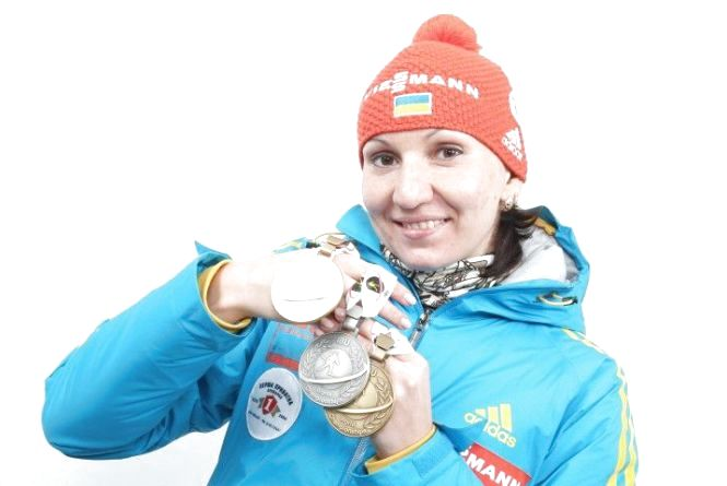 Олена Підгрушна посіла друге місце у контрольній гонці