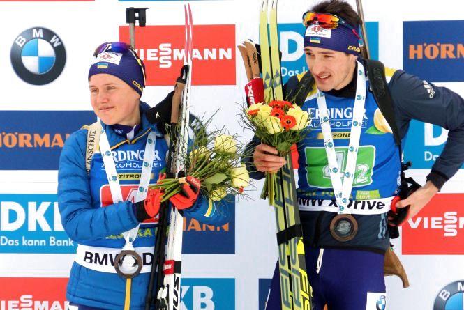 Тернополянка стала бронзовою призеркою Кубка світу з біатлону у дебютній гонці сезону