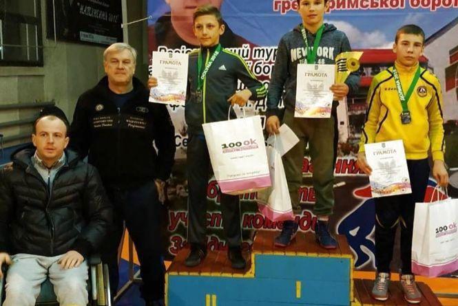 Тернопільський борець став призером регіонального турніру