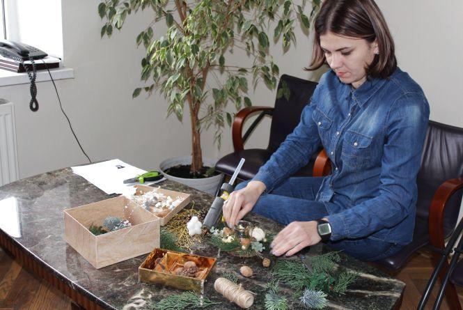 Створюємо різдвяний підсвічник: ексклюзивний майстер-клас від Ірини Киби (відео)