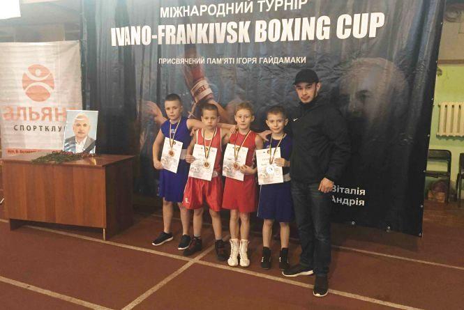 """На Міжнародному турнірі з боксу тернополяни вибороли чотири """"золота"""""""