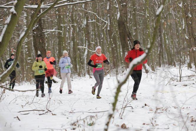 Зима бігу не перешкода