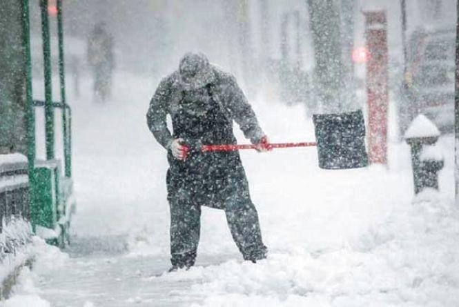 На Західну Україну йде сніжний циклон: погода на Андрія