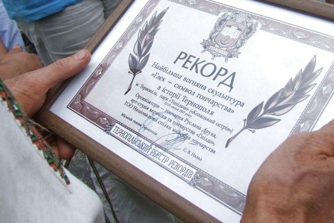 У Тернополі встановлять два нові рекорди