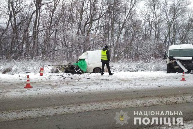Смертельна аварія на Тернопільщині: дві автівки зіткнулись лоб в лоб