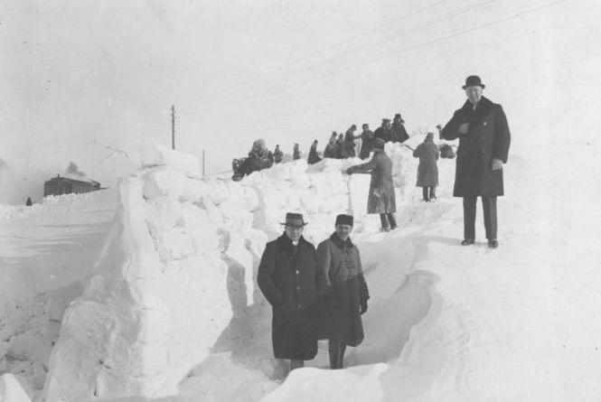 Як прибирали від снігу дороги Тернопільщини 90 років тому