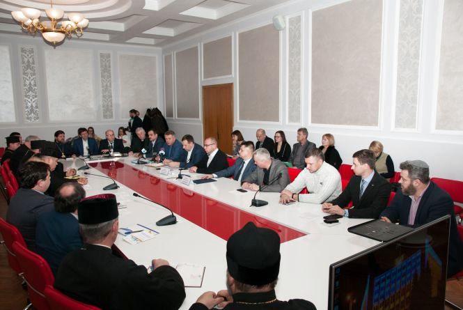 На засіданні Ради Церков при Тернопільській облдержадміністрації підбили підсумки за рік (фото) (прес-служба)