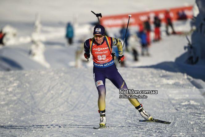 Олена Підгрушна достроково зійшла з дистанції під час гонки на Кубку світу