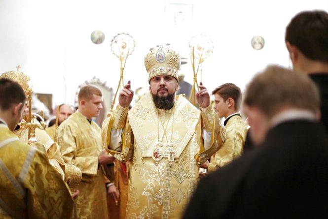 Митрополита Епіфанія обрали главою Єдиної помісної церкви України
