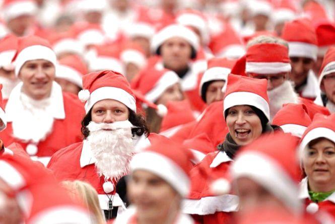 Тернополян запрошують реєструватись на забіг Санта-Клаусів