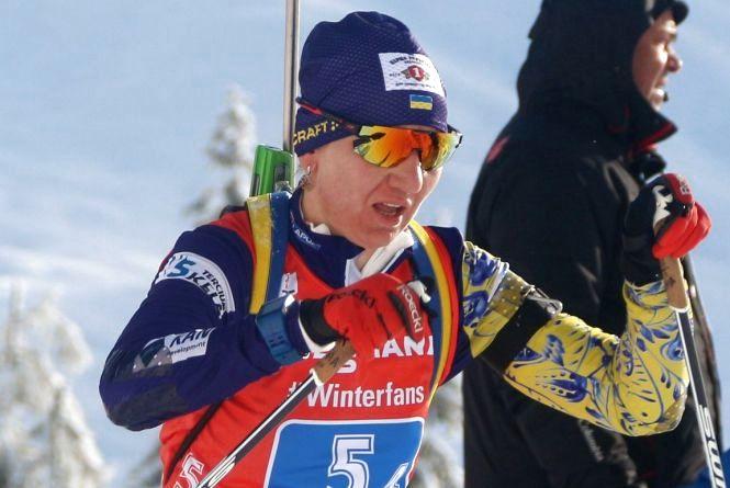 Другий етап Кубка світу з біатлону тернополяни завершили невдачами у естафеті
