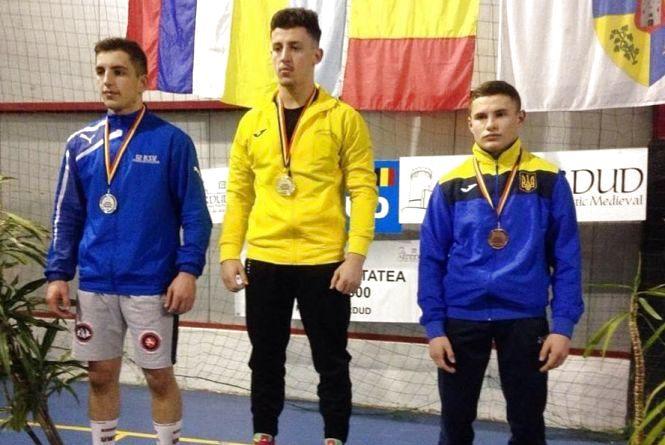 Тернопільський борець став призером Міжнародного турніру у Румунії