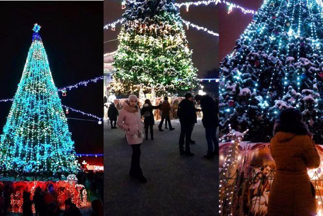 В Instagram публікують фото головної ялинки Тернополя