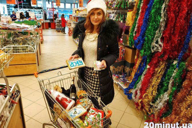 Щоб зібрати новорічний кошик, треба мінімум 1200 грн
