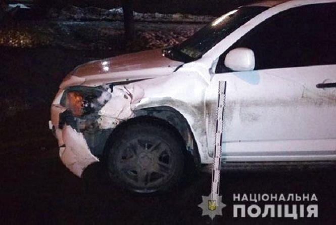 На Злуки авто збило пішохода, він помер у лікарні
