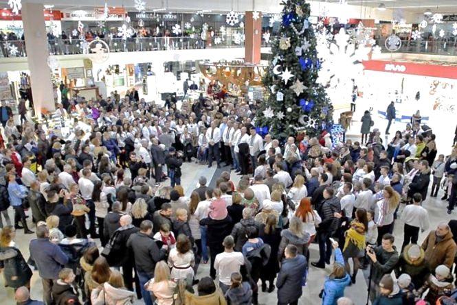 У Тернополі зберуть тисячу колядників в одному місці