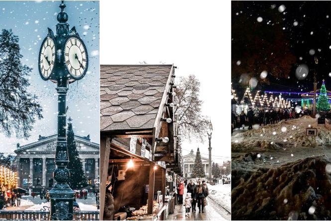 """Топ-10 фото """"Файного зимового містечка"""", які тернополяни опублікували в Instagram"""