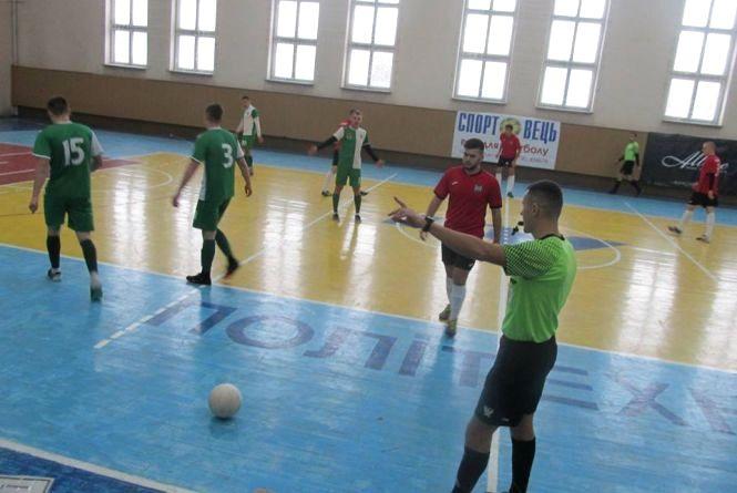 Визначили чвертьфіналістів Кубка Тернопільської футзальної ліги