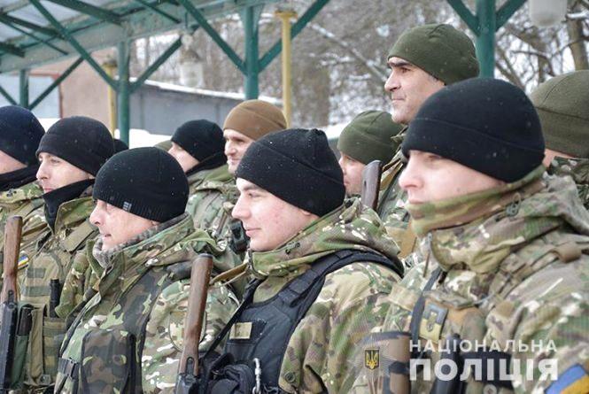 У зону ООС поїхали поліцейські Тернопільщини