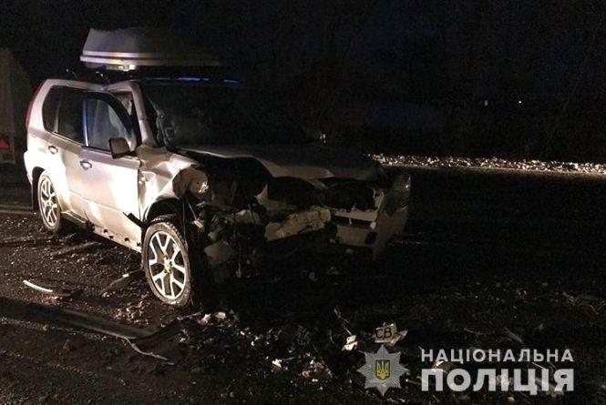 Смертельна аварія під Тернополем. Зіткнулися три автомобілі