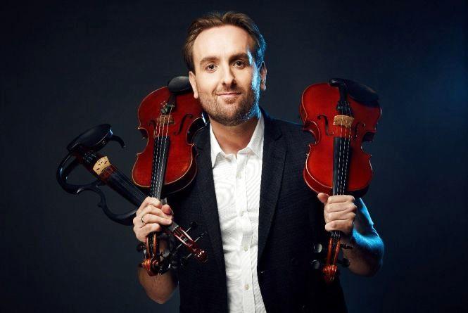 Музикант-віртуоз Олександр Божик показав у Тернополі скрипкове шоу