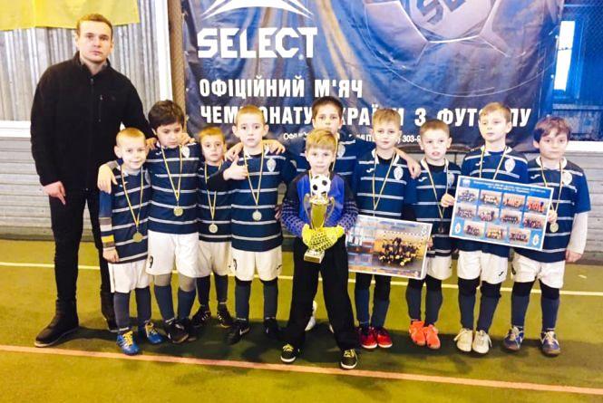 У Тернополі визначили переможців футзальної першості серед дітей