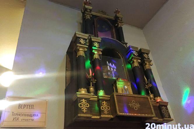 Тернополяни можуть побачити різдвяну шопку, якій понад 200 років