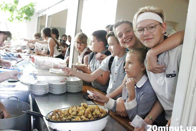 За обіди для учнів пільгових категорій міська влада платитиме 18 грн