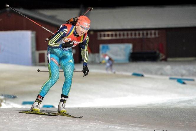 Олена Підгрушна зійшла з дистанції та не зуміла завершити гонку на Кубку світу