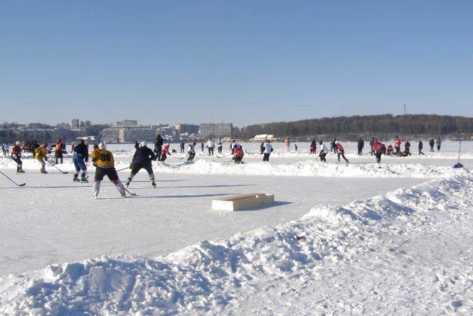 """На тернопільському ставі відбудуться хокейні змагання """"Ternopil Hockey Classic"""""""