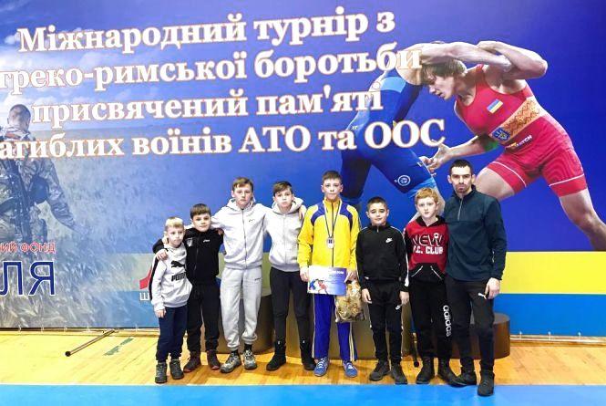 Тернополянин став призером Міжнародного турніру з греко-римської боротьби
