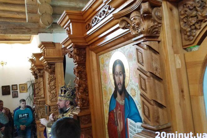 """""""Піст для нашої душі є весною"""": Владика Епіфаній провів літургію в Тернополі"""