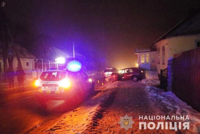 У Почаєві п'яний водій збив двох цивільних та поліцейського