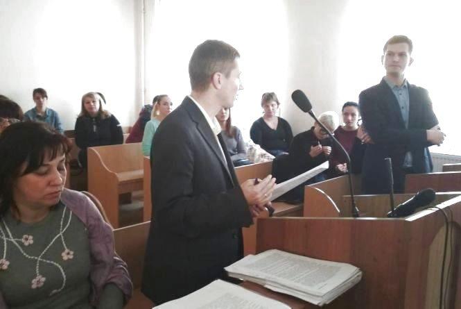 У Львові  відбулося судове засідання про оплату 1215 гривень за відвідування тернопільських садочків