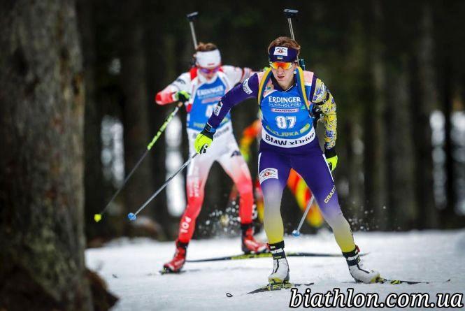 Олена Підгрушна пропустить восьмий етап Кубка світу з біатлону у США