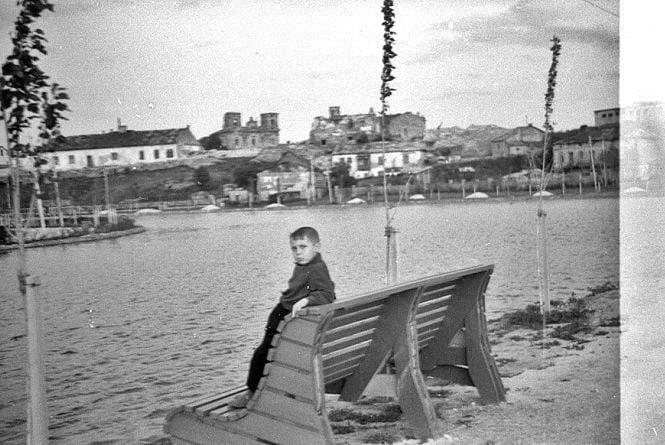 Фото дня: Тернопільська набережна і парк Шевченка на світлинах 70-річної давності