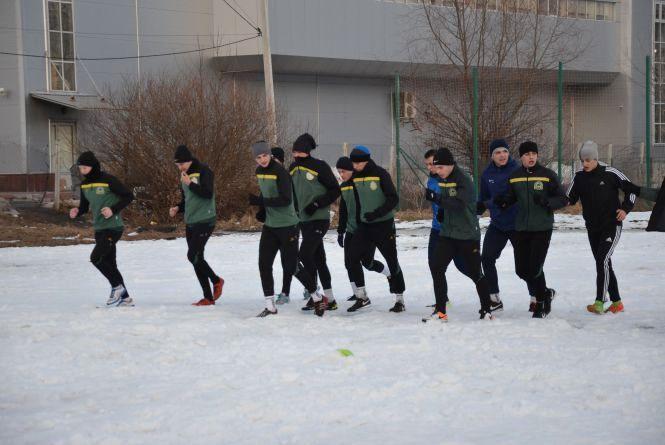 """Тернопільська """"Нива"""" завершила перший тренувальний збір"""
