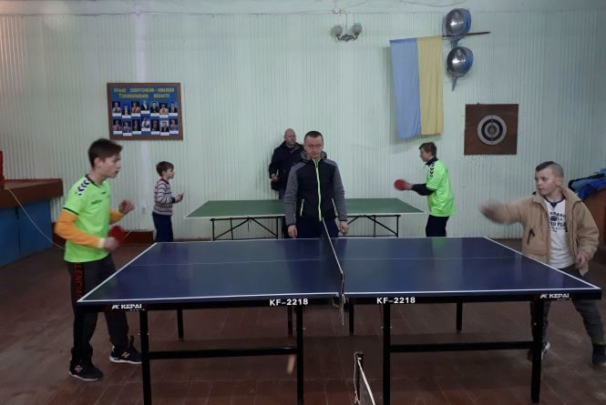 """""""Інваспорт"""" провів змагання з настільного тенісу серед дітей"""