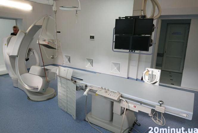 У Тернополі відкрили кардіоцентр (оновлене)